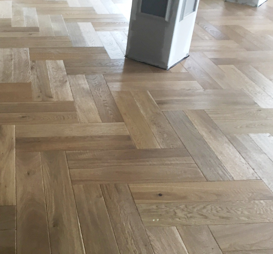 Aged Coastal Herringbone Smart Oak Flooring Melbourne Vic