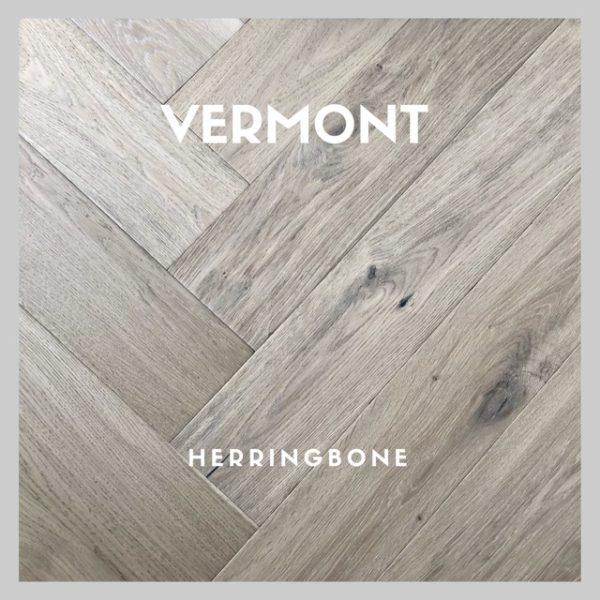 VERMONT OAK HERRINGBONE PARQUETRY FLOORING