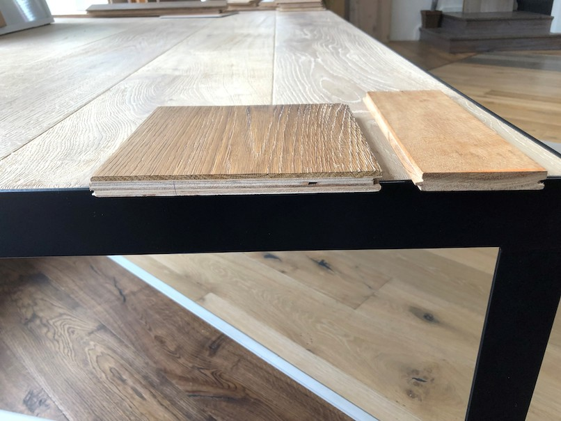engineered vs solid oak flooring