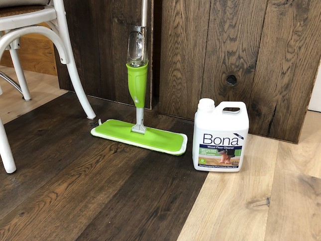 how to clean timber floorboards